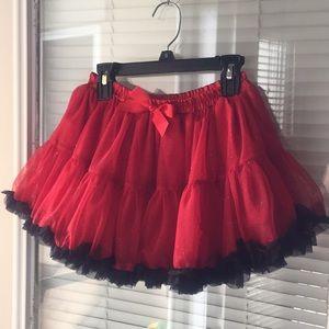 Little Girls Holiday Tulle skirt